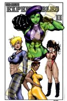 SHE-HULK'S EXPENDABLES II by Dwid