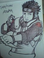 Asuma by natureandkakashi