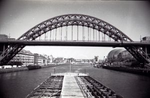 Tyne Bridge and River by Princess-Amy