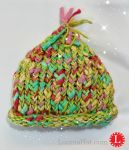 Pixie Loom Knit Baby Hat by LoomaHat