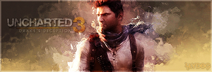 Uncharted 3 Banner by Slydog0905