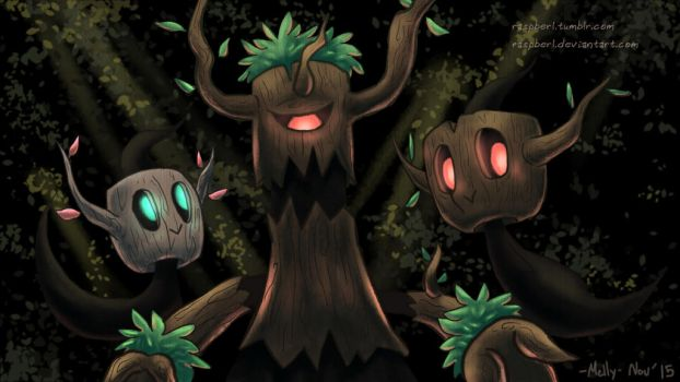 A Phantump Picture by Raspberl