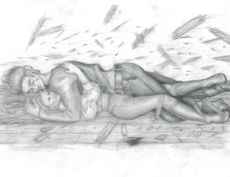 45 2012 Tini - Pencil: Jim + Raphaelle by JusTiniStilborn