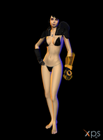 Nude Kasumi Goto (With gear)! by anorexianevrosa