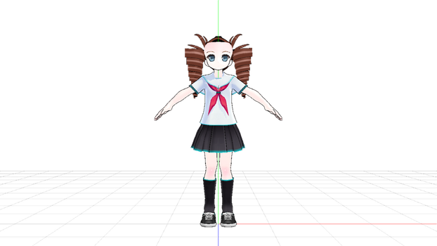 MMD Request: Model wip by dianita98