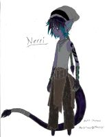 Nerri the Marbiter in Color by Faullyn