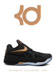 Nike Zoom KD IV 'Rose Gold' by BBoyKai91