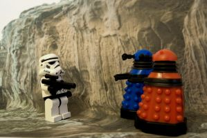 WE ARE NOT THE DROIDS... by Darthmiller