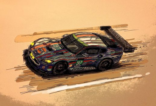 01 24hLeMans2013 GTPro97c by Rizov