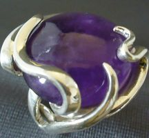 Amethyst Ring by forkwhisperer