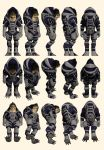 Mass Effect, Krogan Medium Explorer Armour by Troodon80