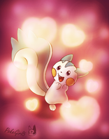 Pachirisu used ATTRACT by PokeGirl5