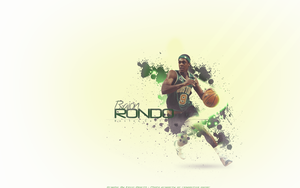 Rajon Rondo Wallpaper by KevinsGraphics