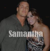 Mickie James and Randy Orton by SheWolfLupin