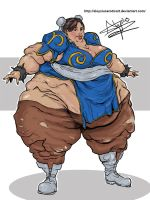 Chun Li Commission Trade by AloysiusEroticArt