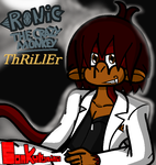 Thriller Album - Ronic the Crazy Monkey by conkeronine