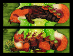 Caterpillar Fox Bookmark 1 by Mohn-Fuchs