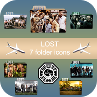 LOST 7 folder icons pack by LeaBeaudoin