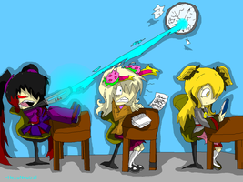 Contest-Waiting for schoolsend by HezuNeutral