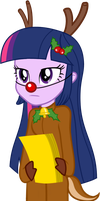 MLP Reindeer Sparkle by 0Bluse