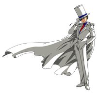 Kaito Kid Render by Lord Tower (JMoriarty) by JemesMoriarty