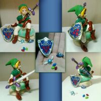 Link - cold porcelain by 13paulis