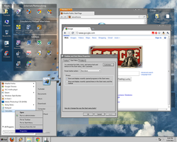 Windows 7 Classic Theme WIP 9 by EyesOfARaven