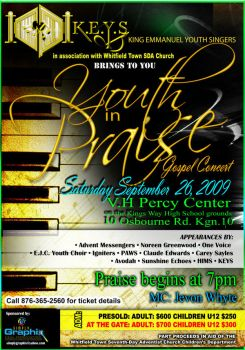 Youth in Praise Gospel Concert by simplygraphix