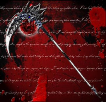 Scythe of Un-Ending Darkness by D3vi1sView