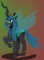 Queen Changeling by VicmanOne