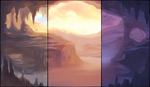 Deep Cavern Background Pack by AlphaStryx