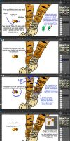 Metal Tutorial by iheartart132