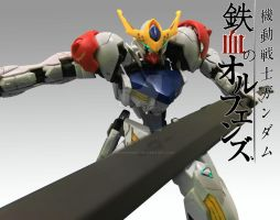 Gundam Barbatos Lupus Wallpaper by TSURUGIKNIGHT