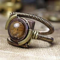 New Steampunk Ring design by CatherinetteRings