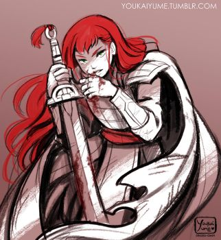 12 Kingdoms - The Red Queen by YoukaiYume