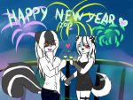 Happy New Year 2017 by LostJPizzaD