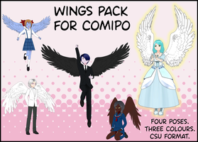 Wings Pack by BellaMbrianna