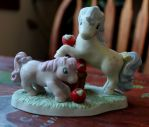 VintageG1 My Little Pony Porcelain Statue For Sale by lupagreenwolf