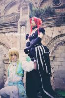 -Trinity Blood- IonF and EstherB by HauntedKing