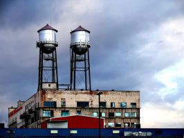 Water Towers by techunit