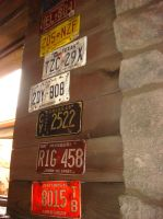 Cars Land - License plates of Radiator Springs by Magic-Kristina-KW