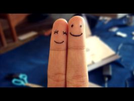 Smile On Your Fingers by emceenick
