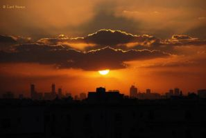 Sharjah Sunset by TonsofPhotos