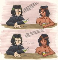 Snape Vs. Jacob by Phyrra