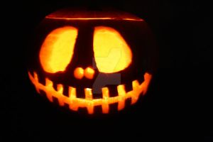 Jack Skellngton O Lantern by Helen--127