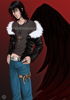Commission - Samael by NineInjections