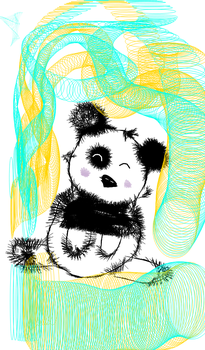 panda by D1sn3yP0tterGamES
