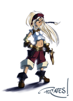 Pirate Girl by Fred-H