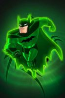 Green Lantern Batman by KalEl7