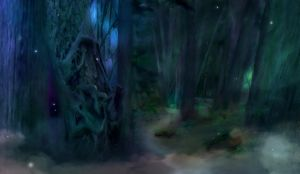 Forest of Ire Concept by epicondyle